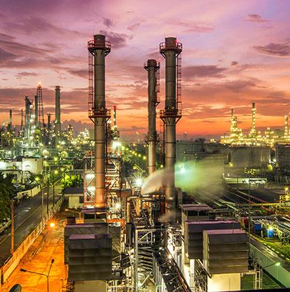 Petroquímicas y refinerías de CERINOX