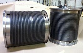Tambores enrolla cable de CERINOX